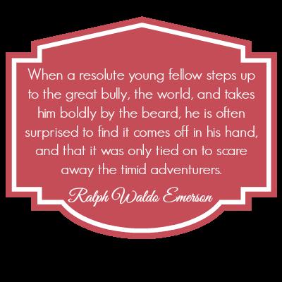 Ralphwaldo quote