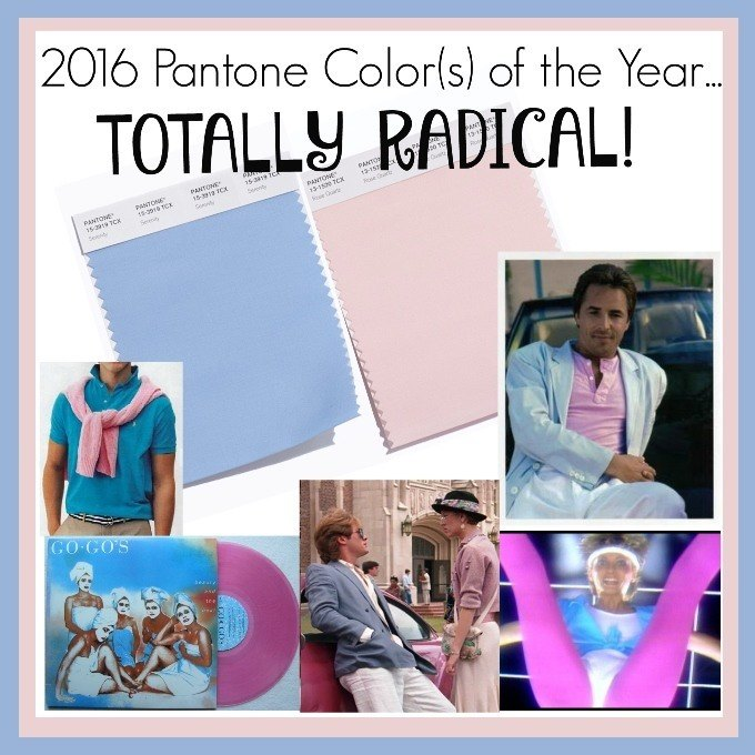 Color Of The Year 2016: 2016 Pantone Color Of The Year Rocks The 80's