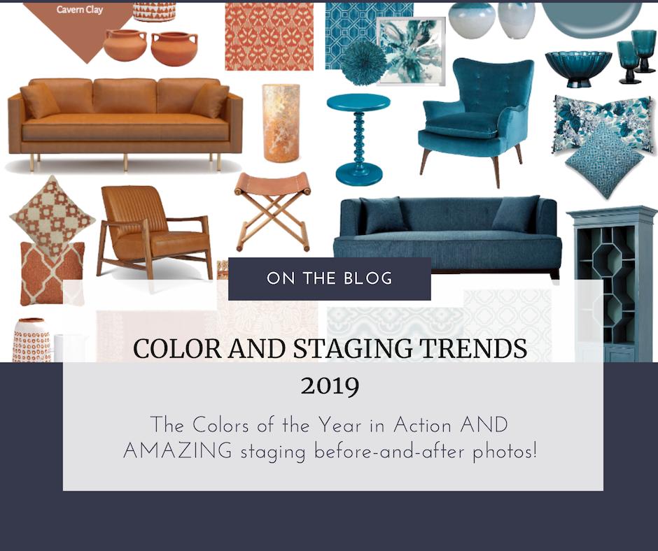 color and staging trends 2019 hsr home staging certification training. Black Bedroom Furniture Sets. Home Design Ideas